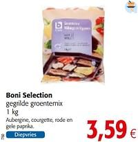 Boni selection gegrilde groentemix-Boni