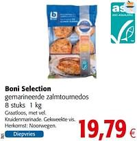 Boni selection gemarineerde zalmtournedos-Boni