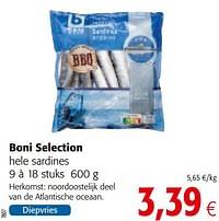 Boni selection hele sardines-Boni