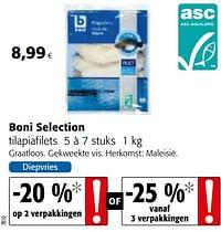 Boni selection tilapiafilets-Boni