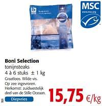 Boni selection tonijnsteaks-Boni