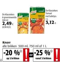 Knorr alle brikken-Knorr