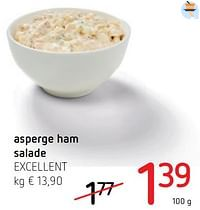 Asperge ham salade excellent-Excellent