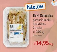 Boni selection gemarineerde heekfilets-Boni