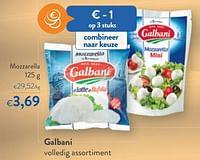 Galbani mozzarella-Galbani