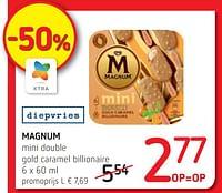 Magnum mini double gold caramel billionaire-Ola