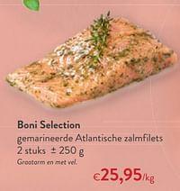 Boni selection gemarineerde atlantische zalmfilets-Boni