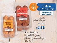 Boni selection pikante gehaktballetjes-Boni