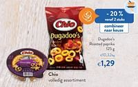 Chio dugadoo`s roasted paprika-Chio