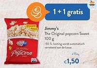 Jimmy`s the original popcorn sweet-Jimmy