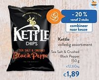 Kettle sea salt + crushed black pepper-Kettle