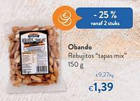 Obando rebujitos tapas mix-Huismerk - OKay