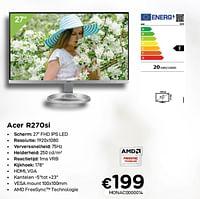 Acer r270si-Acer