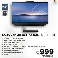 Asus zen aio asus zen all-in-one intel i5-10500t-Asus