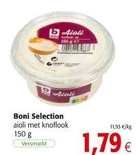 Boni selection aioli met knoflook-Boni