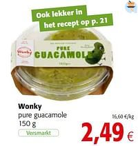 Wonky pure guacamole-Wonky