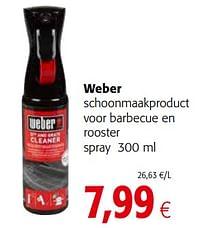 Weber schoonmaakproduct voor barbecue en rooster spray-Weber