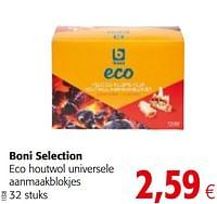 Boni selection eco houtwol universele aanmaakblokjes-Boni