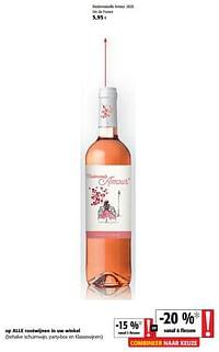 Mademoiselle amour 2020 vin de france-Rosé wijnen