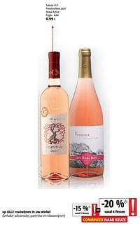 Salento i.g.t. primitivo rosé 2020 masso antico puglia - italië-Rosé wijnen