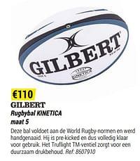 Rugbybal kinetica-Gilbert