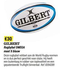 Rugbybal omega-Gilbert