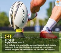 Rugbybal r900 maat 5-OFFLOAD