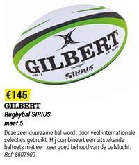 Rugbybal sirius-Gilbert