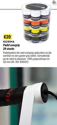 Kuikma padel overgrip-Huismerk - Decathlon