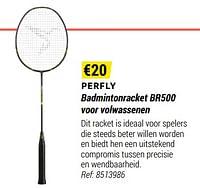 Perfly badmintonracket br500 voor volwassenen-Huismerk - Decathlon