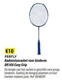Perfly badmintonracket voor kinderen br160 easy grip-Huismerk - Decathlon