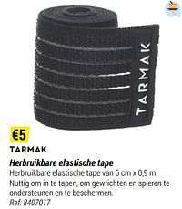Tarmak herbruikbare elastische tape-Tarmak