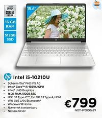 Hp intel i5-10210u nothp0000629-HP