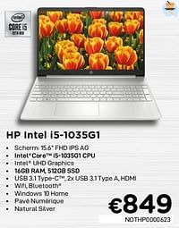 Hp intel i5-1035g1 nothp0000623-HP