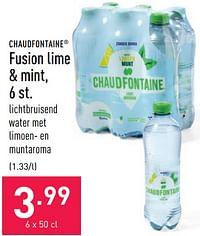 Fusion lime + mint-Chaudfontaine