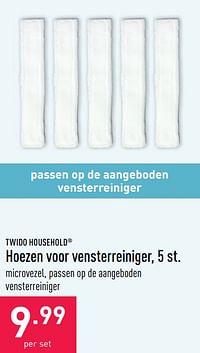 Hoezen voor vensterreiniger-Twido