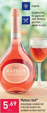 Mateus rosé-Rosé wijnen