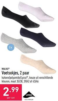 Voetsokjes-Walkx