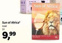 Sun of africa rosé-Rosé wijnen