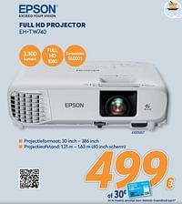 Epson full hd projector eh-tw740-Epson