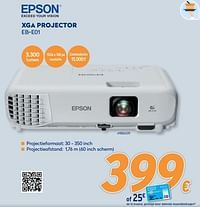 Epson xga projector eb-e01-Epson