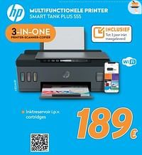 Hp multifunctionele printer smart tank plus 555-HP