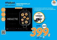 Whirlpool inductiekookplaat wb b8360 ne-Whirlpool