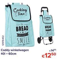 Caddy winkelwagen-Huismerk - Euroshop