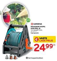 Draagbare haspel hose reel 30-Gardena