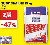 Hubo stabilise-Huismerk - Hubo