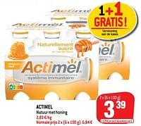 Actimel natuur met honing-Actimel
