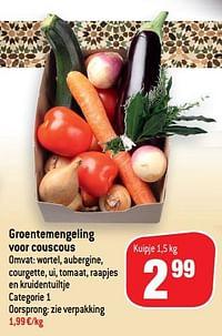 Groentemengeling voor couscous-Huismerk - Match