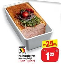 Paté met sjalotten-Huismerk - Match