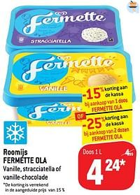 Roomijs fermette ola-Ola